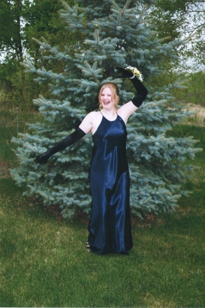 My first prom