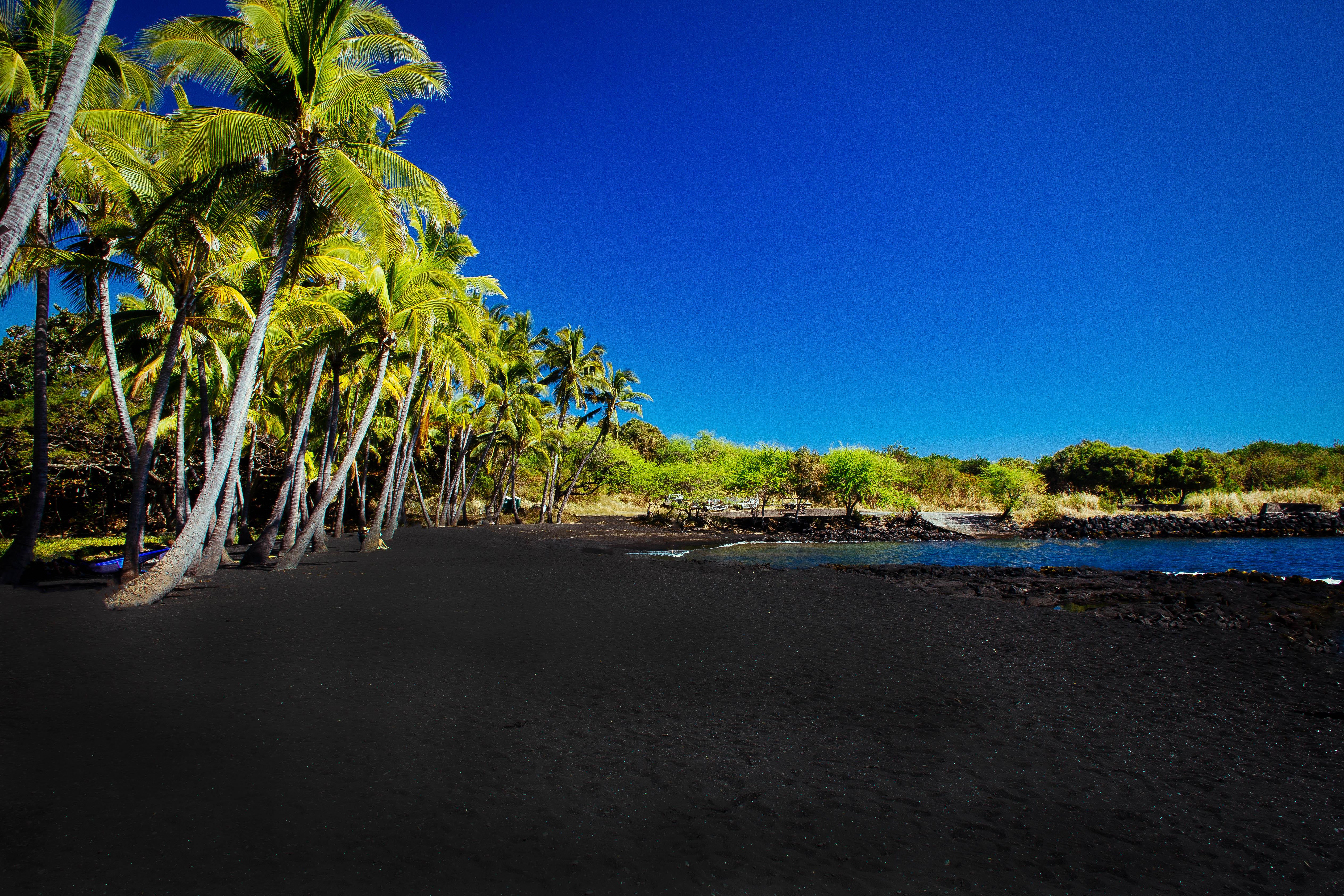 Big Island's Black Sand Beach