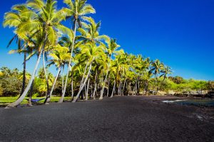 Big Island's Black Sand Beach