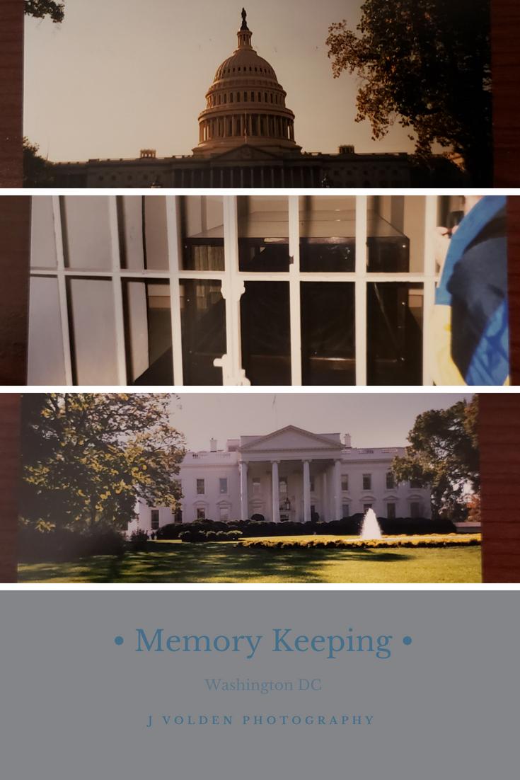 Memory Keeping: Washington DC